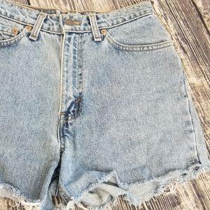Levi's Shorts - VINTAGE Levi's Denim Shorts